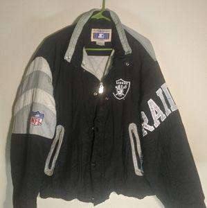 Vintage Starter Raiders Jacket